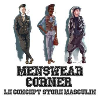 Visuel menswear corner
